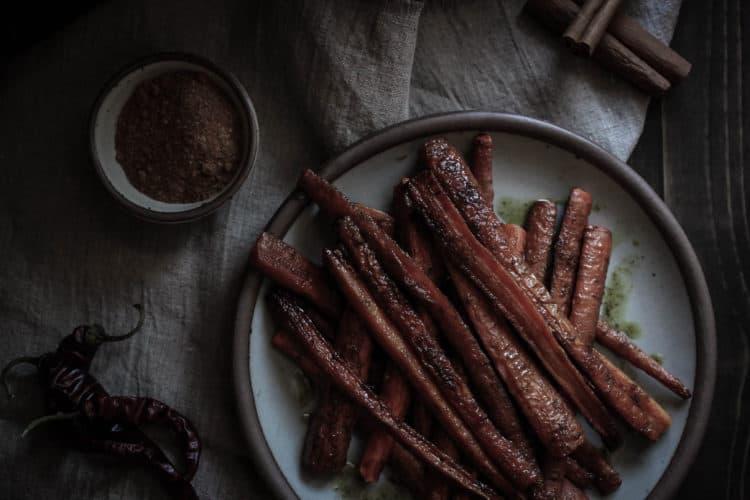 savory cinnamon & spice herbal salt (carrots roasted in savory cinnamon & spice herbal salt)