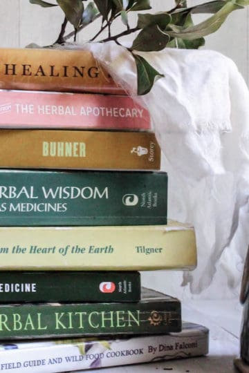 the best herbalism books for beginning herbalists - books on herbal medicine and culinary herbalism for home remedies and cooking with herbs